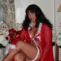 Victoria Waiting For Santa