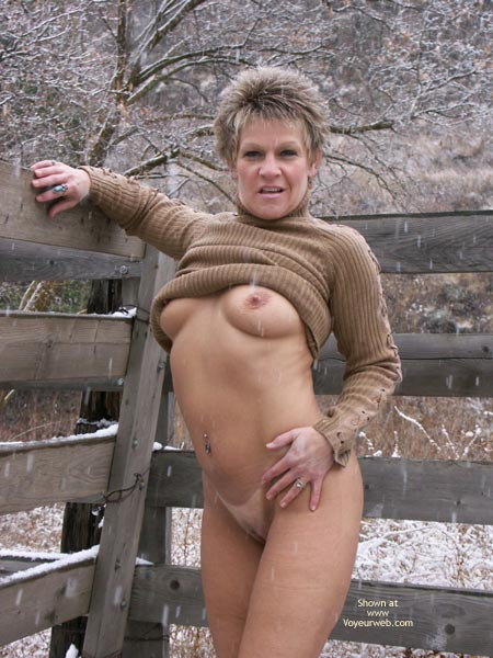 Pic #9 - Angelique First Snowfall