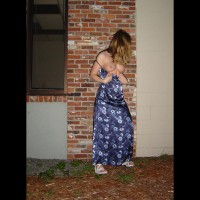 Amanda, Out For A Midnight Stroll. 1 Of 2