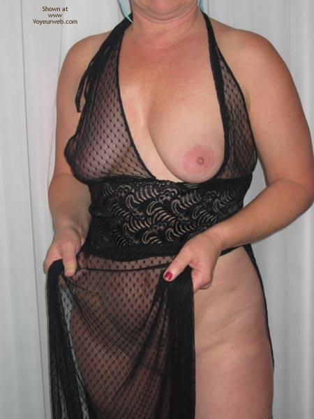 Pic #3 - Cheryl In Sheer Black