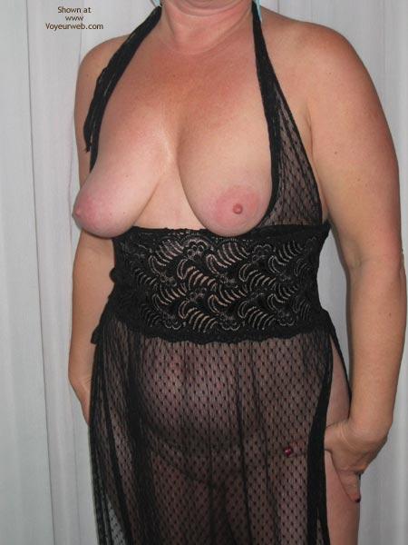 Pic #4 - Cheryl In Sheer Black