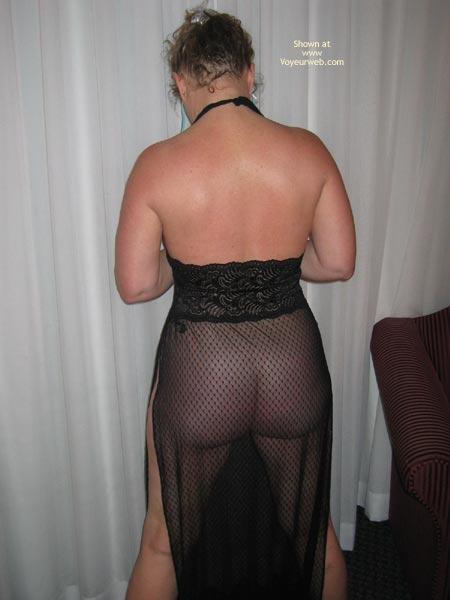 Pic #6 - Cheryl In Sheer Black