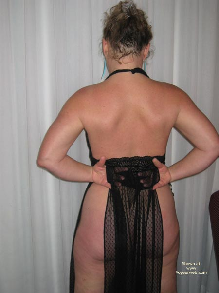 Pic #7 - Cheryl In Sheer Black