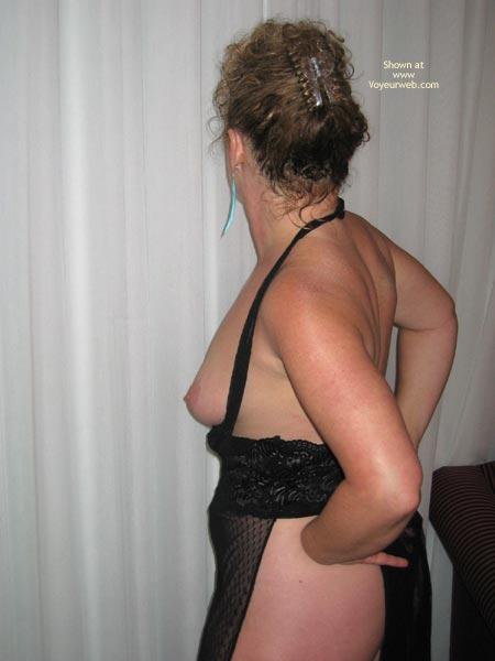 Pic #8 - Cheryl In Sheer Black