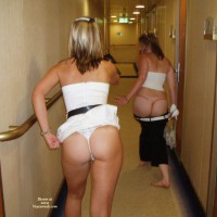 Butt Parade In Hotel Hall