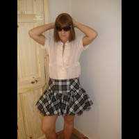Anne-Skirt And Blouse