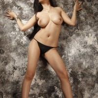 My Model - Asian Girl, Brunette Hair