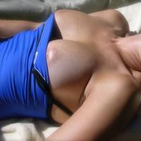 Laying Out Voyeur - Big Tits, Bikini Voyeur