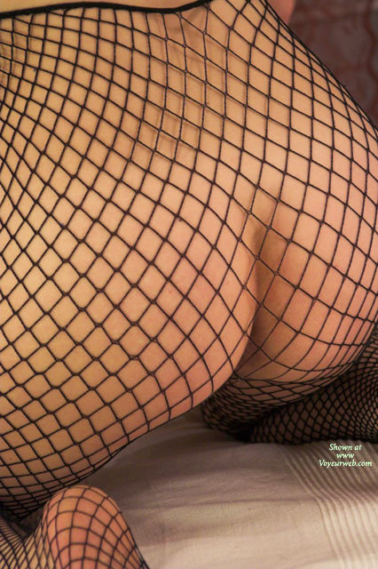 Pic #1 - Fish Net Ass , Black Fishnet Pantyhose, Fishnets, Tight Ass In Fishnets, Ass Closeup, Shapely Ass, Fishnet Booty, Fishnet Clad Ass
