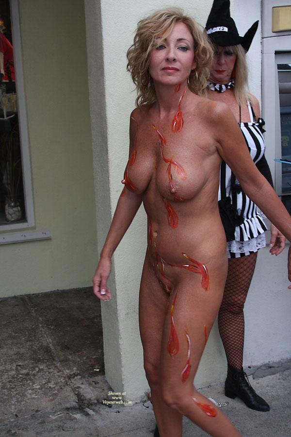Fantasy fest nude