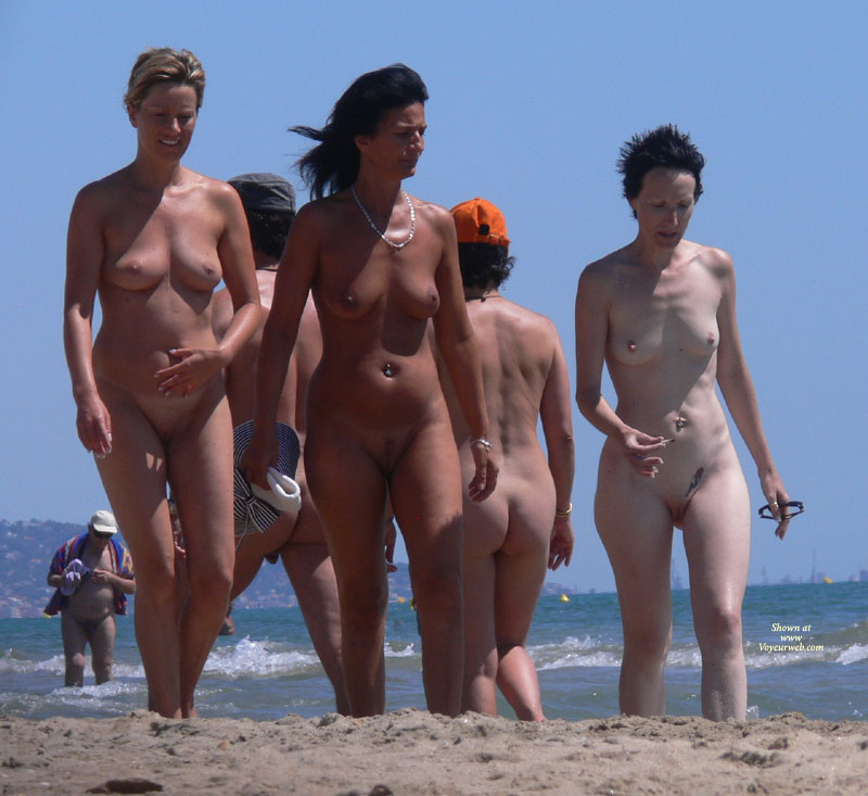French Nude Beach Girls