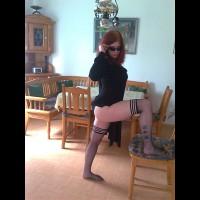 Sexy Redhead Indoors