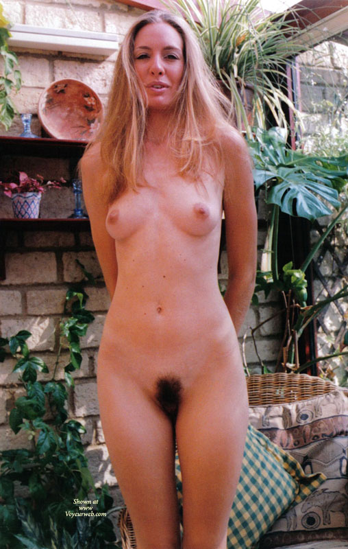 Remarkable, rather amateur hairy blonde pussy sorry, that