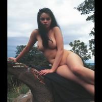 Hot Nude Babe Outside
