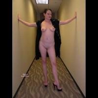 Leggy Elena - Nude At Work