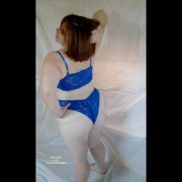 Hubbywife Blue Lingerie
