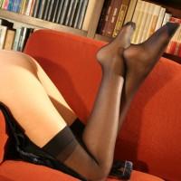 Sexy Lady In Nylon