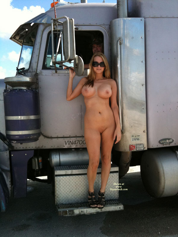 Mature truck stop voyeur your idea