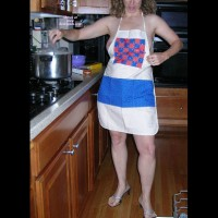 Wife Kay's Exposed In Kitchen