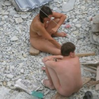 The nudistsí beach