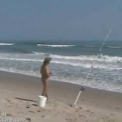 M* Fishing At Playalinda Beach