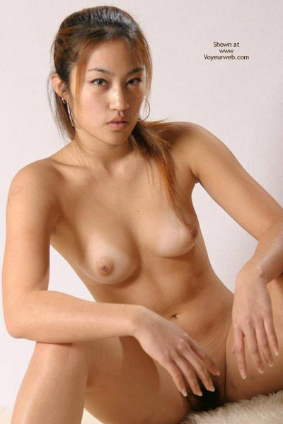 Sexy black girl toying
