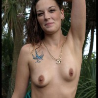 Small Hard Nipples - Brunette Hair, Erect Nipples, Hard Nipple, Topless