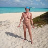 Wife On The Beach 1