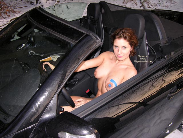 Pic #1 - Vw Logo - Brunette Hair, Erect Nipples, Full Nude, Hard Nipple, Voyeur , Vw Logo, Naked Girl Driving A Car, Brunette Hair, Fully Nude, Car Tits, Auto Boobs, Hard Nipples, Erect Nipples