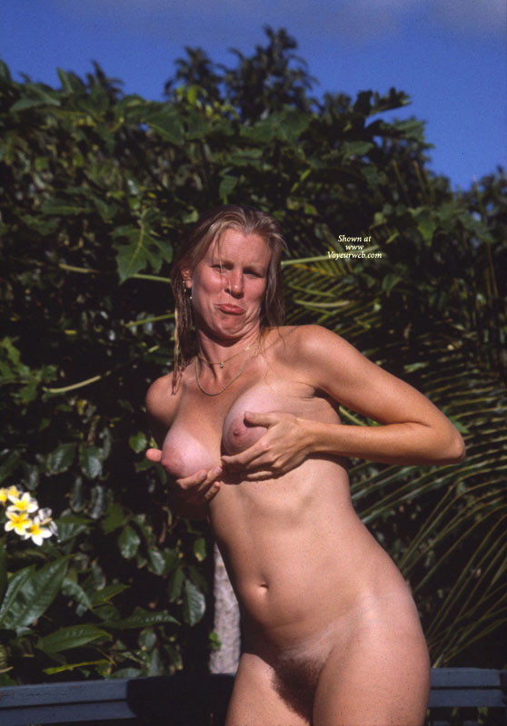 Pic #1 - Nude Girl Cupping Breasts - Nude In Public, Tan Lines, Naked Girl, Nude Amateur , Bushy Vagina, Healthy Beaver, Natural Bush, Cupping Naked Breasts, Sour Face At The Beach, Mature Woman, Showing Off Her Tits