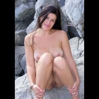 Long Brunette Hair Showing Twat - Brunette Hair, Erect Nipples, Long Hair, Shaved Pussy, Naked Girl, Nude Amateur