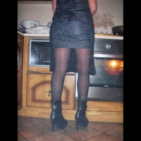 *NY Cooking In Pantyhose