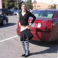 The Italian Girl (streeptease In Hotel Parking)