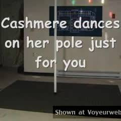 Cashmere On Her Pole