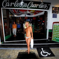 Carlos N Charlies In Cozumel