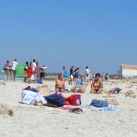 Topless Amateur:Mallorca Beach: 3 Girls