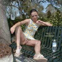 Austin Sunning Her Bunny