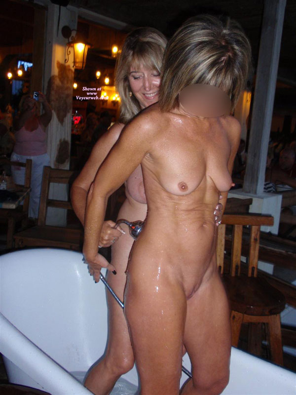 Naked Wife In Bar