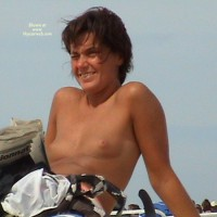 Topless :French Blond Beach Last Summer