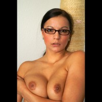 Topless Beauty In Glasses - Topless