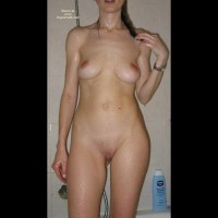 Turkish Hotwife Exposing Her Nude Body In Bath