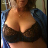 Amateur in Lingerie: Feeling Blue