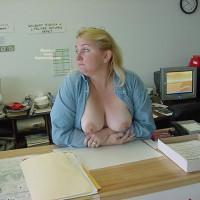 Jess Works At The Marina Store