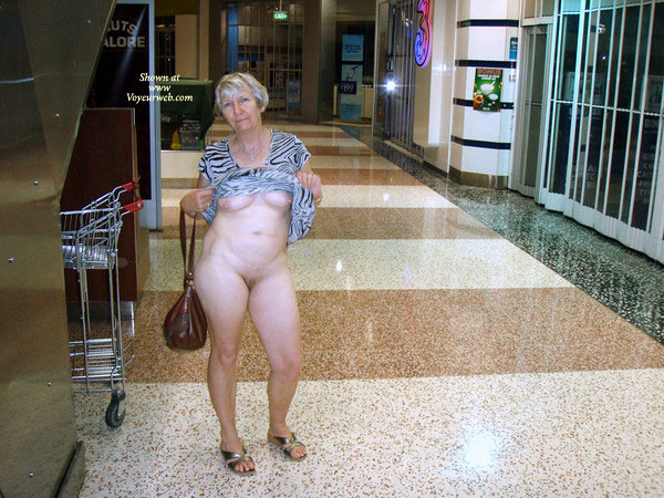 Pic #2 Topless Wife: At The Mall