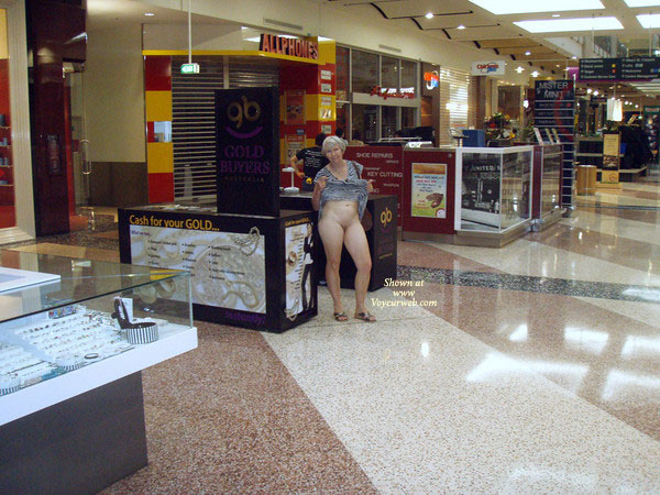 Pic #3 Topless Wife: At The Mall