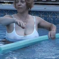 Wife in Swimwear:*ST Sniffy's Wet T