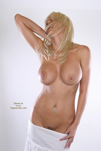 Pic #1 - Blonde - Big Tits, Blonde Hair, Huge Tits, Navel Piercing, Nipples, Topless , Blonde, Large Tits, Topless Indoors, Pierced Bellybutton, Big Tits, Uneven Nipples