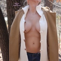 Topless Wife: A Trail By The River