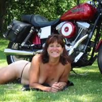 Nude Wife:Cc's Bike