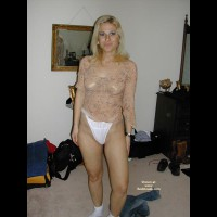 Hot Blonde Loves Her Toys..